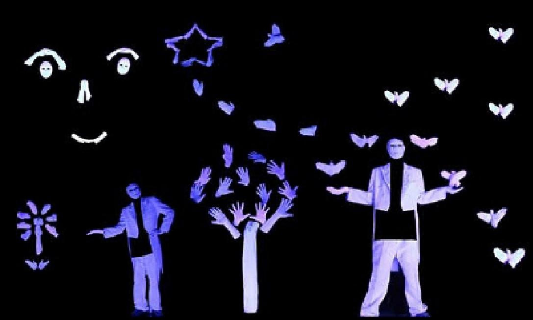 紫光手影舞